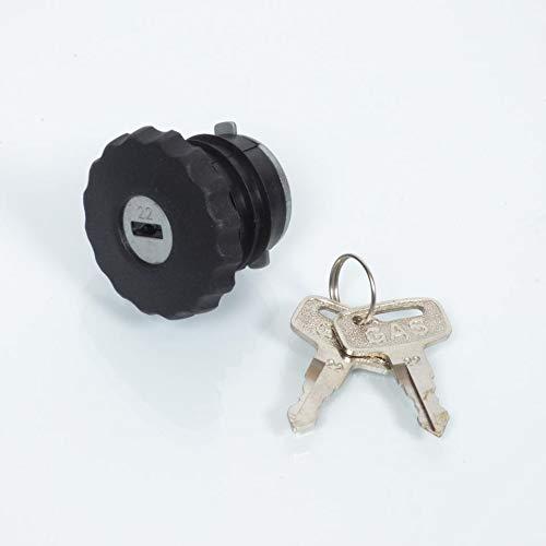Tap/ón de dep/ósito de gasolina llave antirrobo de 30/mm para ciclomotor Peugeot 103/MVL nuevo