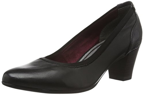 Tamaris WoMen 22400 Closed-Toe Pumps Black (Black 001)
