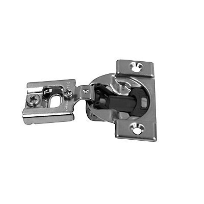 Blum 38N355BE08x20S Compact Soft-Close 1/2'' Overlay Blumotion Hinge, Nickel Finish (Pack of 20)