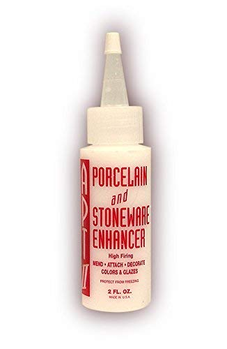 Porcelain and Stoneware Enhancer For Mending, Thickening and Attaching on Clay and Slip