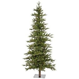 Vickerman 8' Shawnee Fir Artificial Christmas Tree With 450 Warm White LED Lights