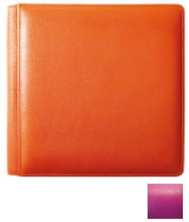 RODEO PINK fine-grain leather #105 album with 5-at-a-time pages by Raika - 4x6 by Raika