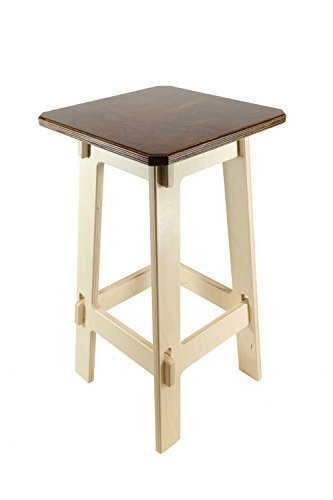(Stupendously Sturdy Counter Stools, Cherry Stained Standard Top, Counter Height, 24 Inches)