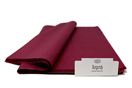 Burgundy - 96 Sheets - Gift Wrapping Tissue Paper 15