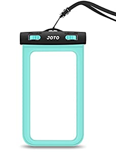 """Universal Waterproof Case, JOTO CellPhone Dry Bag Pouch for Apple iPhone 7 Plus 6S 6 Plus SE 5S, Samsung Galaxy S7, S6 Note 5 4, HTC LG Sony Nokia Motorola up to 6.0"""" diagonal"""