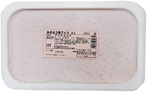 2L あまおう苺 アイス (スジャータ)期間限定品