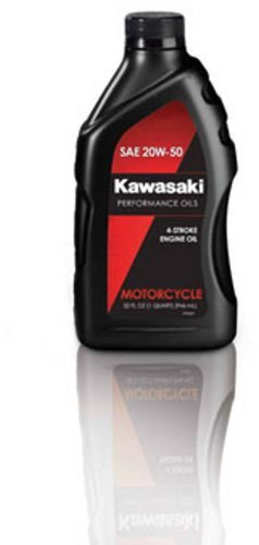 Kawasaki Performance Engine Oil - 20W50 - 1 Quart/-- by Kawasaki