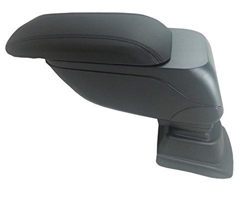 Otros plegable superior de piel negro Apoyabrazos Sliding específicos Fit para VW Polo Mk52009+