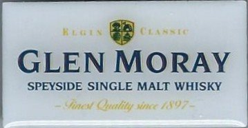 GLEN MORAY SCOTCH MALT WHISKY LAPEL PIN / PIN BADGE (GLENCAIRN)