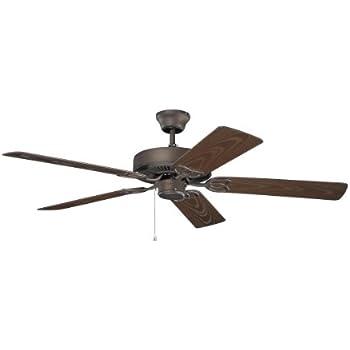 kichler 401snb 52 ceiling fan amazon com rh amazon com
