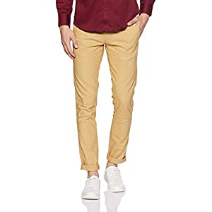 Ruggers by Unlimited Men's Slim Fit Chinos