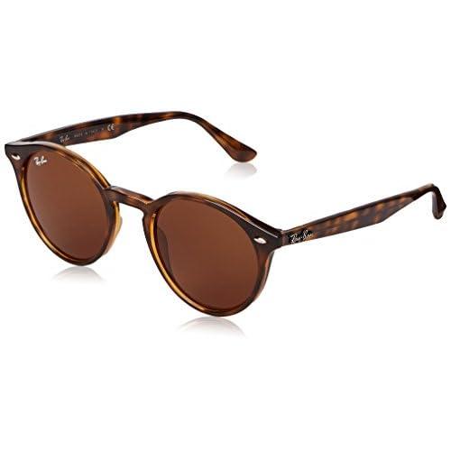 bb2a06dd7b0384 Ray-Ban mixte adulte Rayban Rb2180 710 73 Montures de lunettes, Marron (