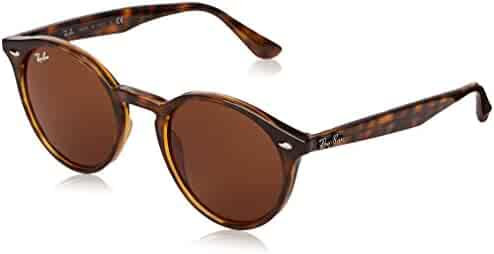 668e47df26 Ray-Ban Injected Man Sunglasses - Dark Havana Frame Dark Brown Lenses 49mm  Non-
