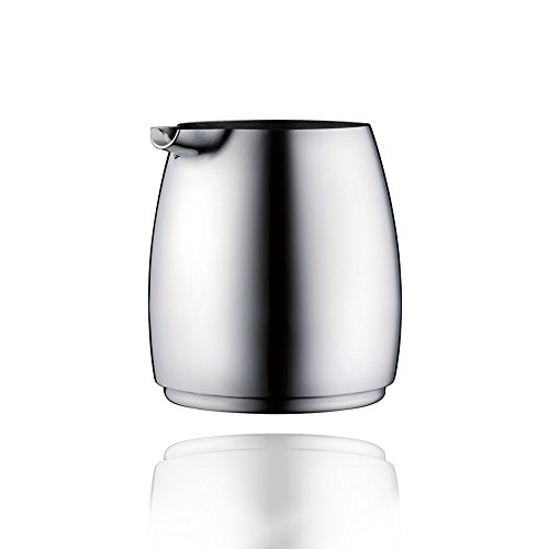 Minos Stainless Steel Creamer Pitcher - 8.5 OZ - Condiment Server - Serving Coffee And Tea On Table