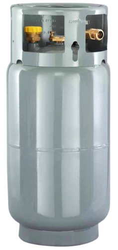 - Worthington 282077 33-Pound Steel Forklift Cylinder With Gauge And Fill Valve