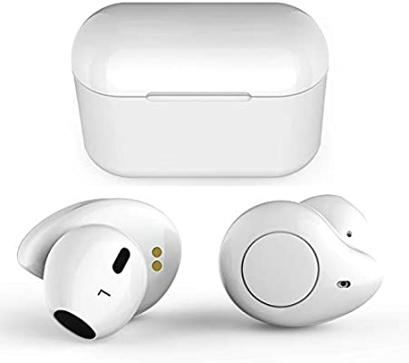 Amazon Com True Wireless Earbuds Willful T1 Bluetooth Earbuds Wireless Earphones Headphones Hd Stereo Sound Clear Call 20h Playtime Earbuds With Microphone Charging Case Compatible Iphone Samsung Android White