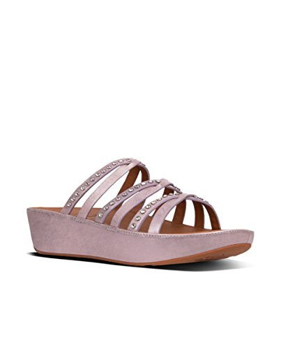 Fitflop Linny Slide Sandals - Crystal - Sandalias de Mujer EN Color Gold