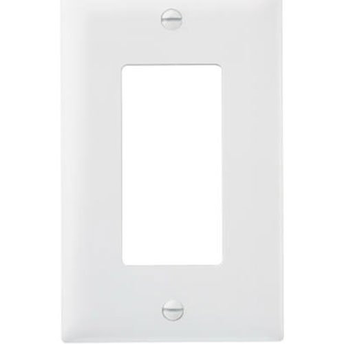 Pass & Seymour TP26WCP TradeMaster One-Gang One-Decorator Wall Plate, White (10 Pack) from Pass & Seymour