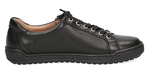 22 Rue Chaussures À Intérieure Caprice Sport Nappa 23650 22 décontracté baskets Black De élégant semelle Femme Lacets chaussures Amovible zqxqR5BtWn