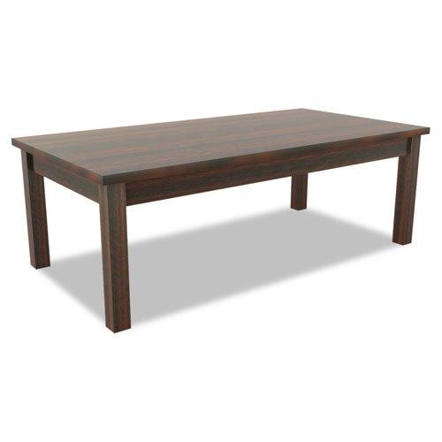 Alera - Valencia Series Occasional Table, Rectangle, 47-1/4 x 20 x 16 3/8, Mahogany VA7548MY (DMi EA by Miller Supply, Inc.