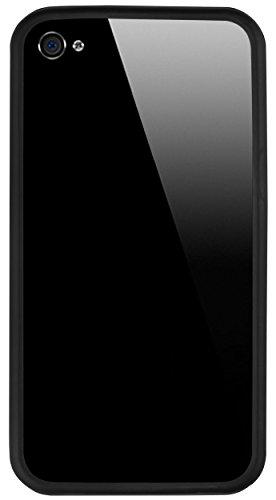 mumbi BUMPER für iPhone 4S 4 mit Metallknöpfen