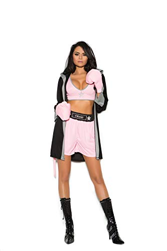 Boxing Costume Top and Shorts with Robe and