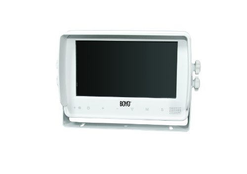 BOYO VTM7000MA 7-Inch Color LCD Digital Waterproof Touch Button Marine Monitor