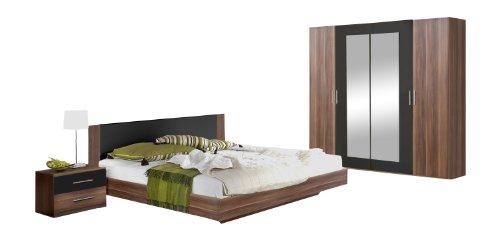 Wimex 937129 Schlafzimmer Nora Set bestehend aus Bett 160 x 200 cm ...