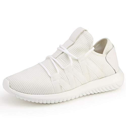 Durable Automne Printemps pour Nouveau Blanc Lace Meshsneakers 2018 White Up Chaussures Athletic Sport De Noir Shoes 39 Confortable Hommes 0qxqY1v