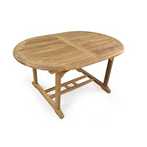 King John Oval Wood Dining Table