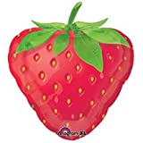Strawberry Balloons, Fruit Balloon shaped like a strawberry