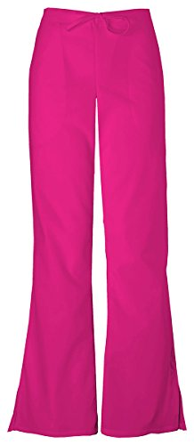 - Cherokee Women's Adjustable Flare Drawstring Pant_Raspberry_Medium Tall,4101T