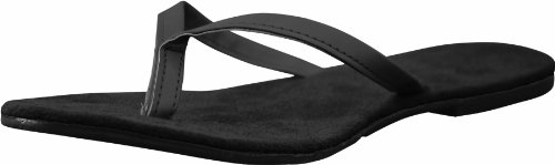 DAWGS Womens Bendable Flip Flops Black