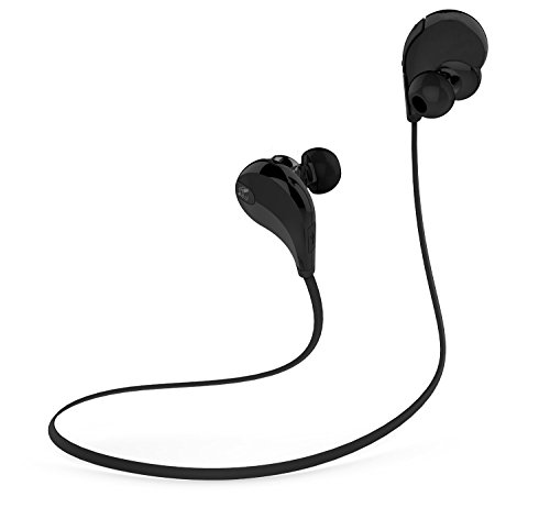 Toysdone Wireless Headphones Stereo Earbuds Wireless Sport Earphones For Running With Mic (6 Hours Play Time, IPX4...