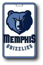 aminco NBA Memphis Grizzlies Soft Bag Tag by aminco