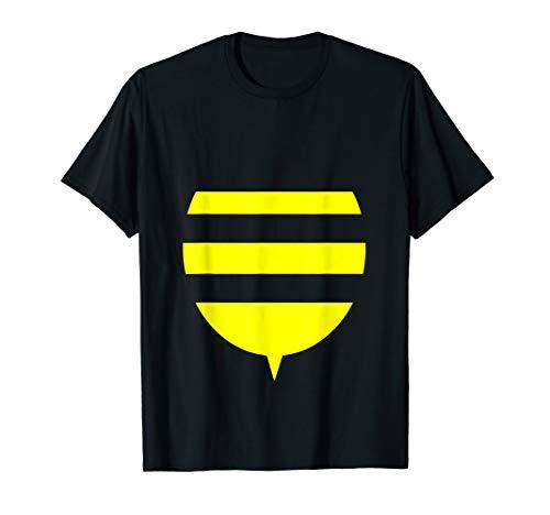 Funny Bee Costume Easy Shirt - Honeybee Halloween Cheap Gift T-Shirt -