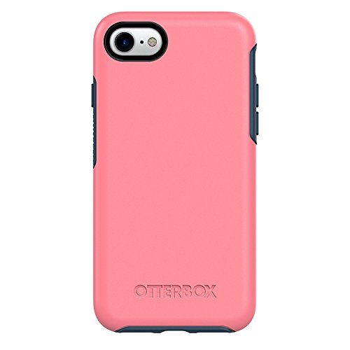 OtterBox Symmetry Series Case for Apple iPhone 8 & iPhone 7 (4.7 ONLY) (Certified Refurbished) (Saltwater Taffy (Pipeline Pink/Blazer Blue))
