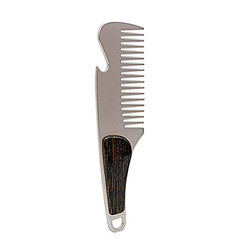 Mustache Bracket - Hunputa Kitchen Dining Bar Tool,Beard Hair Care Stainless Steel Mustache Comb Can Be Use As A Bottle Opener