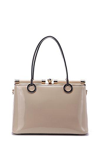 Structured Handbag Mia Designer MKF Beige by Collection Alice K Farrow g4qxw6O