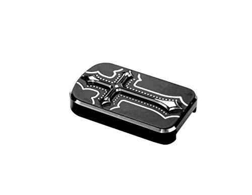 - Precision Billet Dark Side Billet Brake Pedal Cover - Black HD-DS-BPAD-B