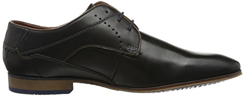 Bugatti 311101101000, Zapatos de Cordones Derby para Hombre Negro (Schwarz 1000)