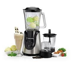 Black & Decker BX600G-B5 600W Glass Blender with Grinder and Mincer Chopper FOR 220 VOLT ONLY. ( WILL NOT WORK IN USA OR - Canada Usa Glasses