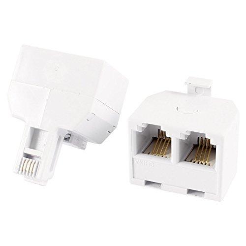 Two 6p4c Plug - 3