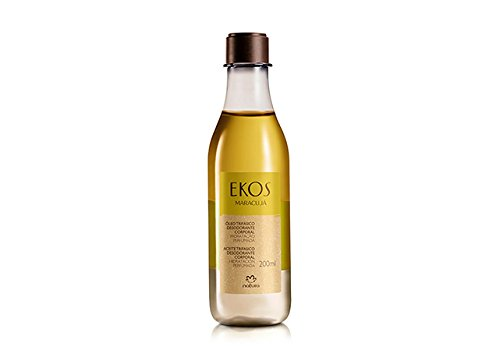 - Linha Ekos (Maracuja) Natura - Oleo Trifasico Corporal 200 Ml - (Natura Ekos (Passion Fruit) Collection - Three-Phase Shower Oil 6.8 Fl Oz)