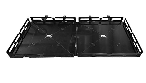 "Mount-n-Lock RV 4"" Bumper-Mounted 4' x 2' Generator & Cargo Carrier Tray with Support Arms (48"" x 24"", Steel)"