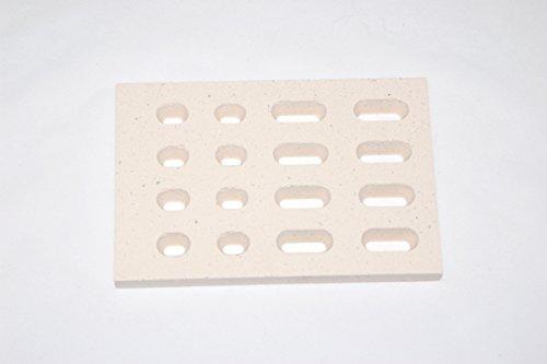 Ceramic Brick flame tamer - 4 pack, BBQ Galore Turbo | 265504 (Bricks Tile)