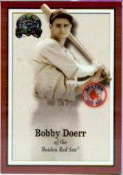 2000 Greats of the Game Baseball Card #35 Bobby Doerr Near Mint/Mint