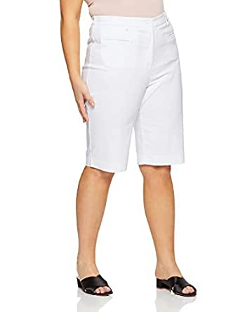 My Size Women's Plus Size Bahamas Short, Grey, 14