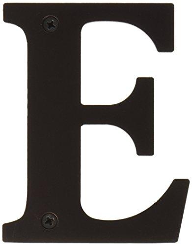 Deltana RL4E-10B 4-Inch Residential Letter E House Board