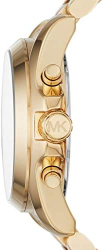 Michael Kors Women's Bradshaw Stainless Steel 43MM Chronograph Watch WeeklyReviewer